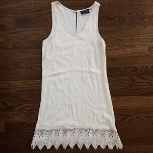 ASTR cream/ivory boho dress fits XS or Small
